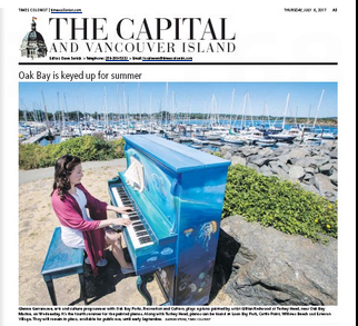 The Capital.Oak Bay Piano
